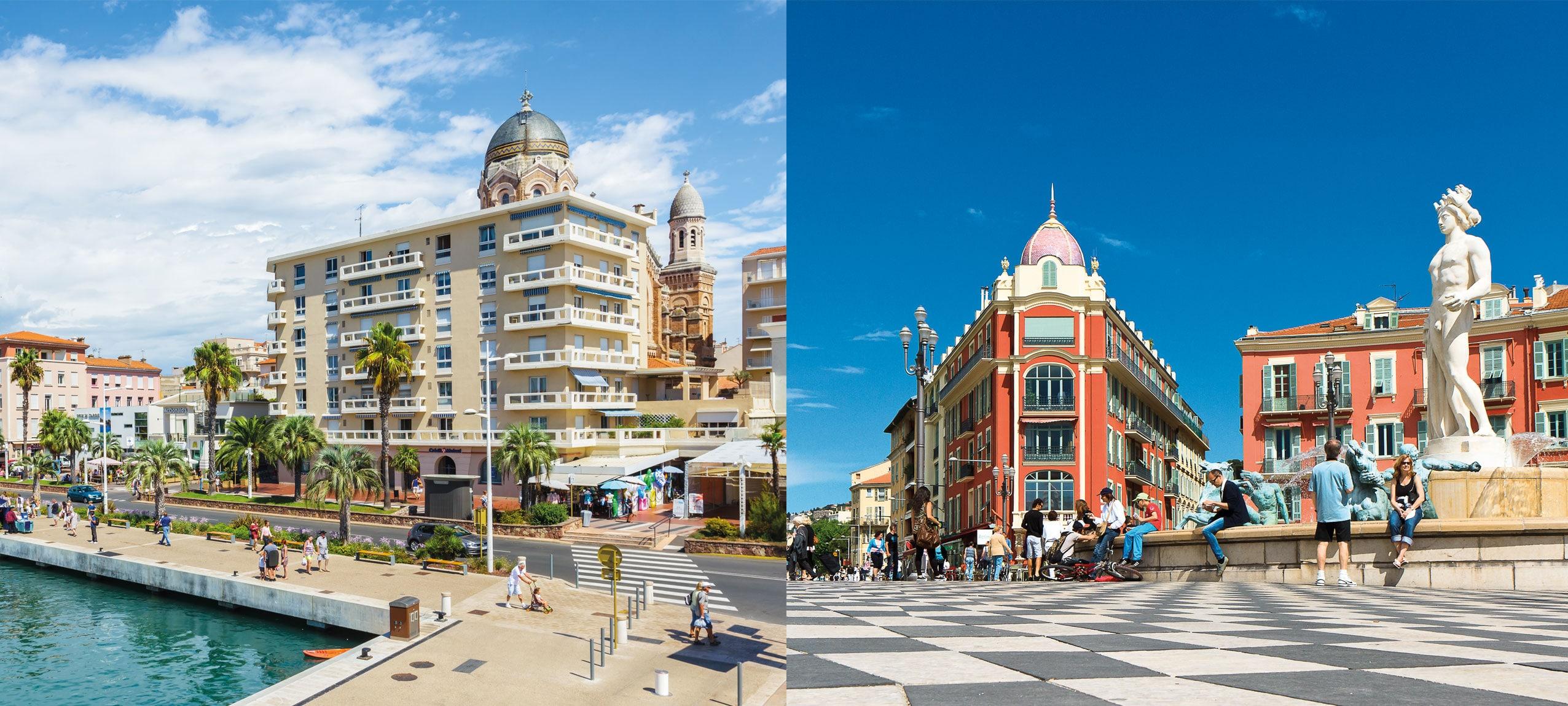 2 Villes - ESiD I École Supérieure Internationale. Saint-Raphaël - Nice Côte D'Azur. Études supérieures, post-bac.